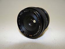 Porst Objectif Grand Angle Auto F MC 1:2 .8 28 mm objectif pentax pk photo 1968/1