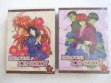 anime Japanese manga Dvd Japan Rurouni Kenshin Meiji Kenkaku Romantan 1 2
