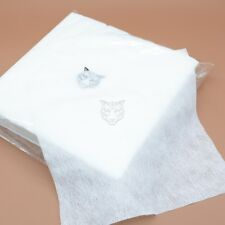 100pcs Disposable White Temporary Tattoo Cleaning Hand Wipe Tissue Paper 22*22cm