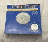 2002 Europa Silver Coin France 1/4 Euro Sealed Uncirculated