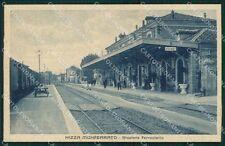 Asti Nizza Monferrato Stazione Treno cartolina QT4869