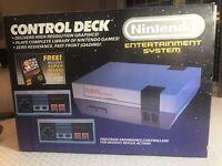 Original Boxed Nintendo NES Control Deck Game Console! Rare Low Serial #! WOW!🔥