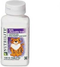 Amway Nutrilite Kids Chewable Iron 1 x 100 Tablets £16.60,  Only 100% Original