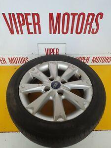 Ford Fiesta Mk7 15 Inch 15'' 8 Spoke Alloy Wheel & Tyre 1955015 2008-2017 Ref 5F