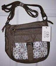 5e98af6931f4d Scarleton Front Lace Small Crossbody Bag H192614 - Khaki
