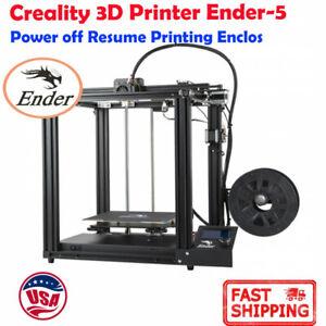 NEW Creality 3D Printer Ender-5 Dual Y-axis Motors Magnetic Plate
