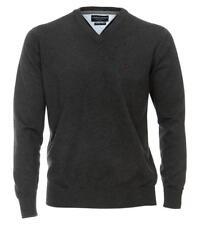 74 3xl CASAMODA - Maglione a V Uomo Anthrazit Xxx-large Abbigliamento (qpy)
