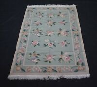 Oriental Traditional Handmade Wool Cotton Floral Designer Kilim 3x5 Ft DN-291