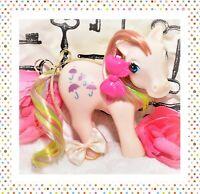 ❤️My Little Pony MLP G1 Vtg ITALY Italian TROPICAL Rainbow PARASOL NIRVANA❤️