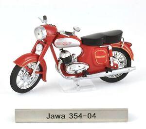 1:24 Atlas DDR Motorcycles Jawa 354-04 Motorrad red