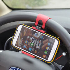Car Steering Wheel Phone Socket Holder Universal for iPhone Android