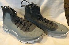 Under Armour Men's UA Curry 4 Basketball Shoes Sneakers ~ Gray ~ Size 12