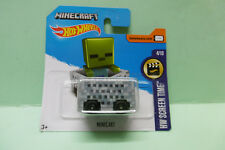 MINECRAFT MINECART HOT WHEELS 1/64 HOTWHEELS