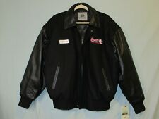 NWT Summit Racing Equipment 40th Anniversary Jacket Large Burks Bay Leather