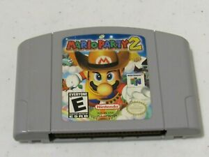 Mario Party 2 Nintendo 64 N64 Authentic Video Game Super Fun Retro Kids Smash