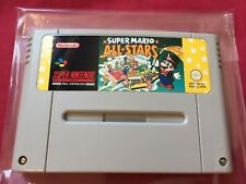 SNES PAL SUPER MARIO ALL-STARS 1992 Super Nintendo FREE POSTAGE worldwide