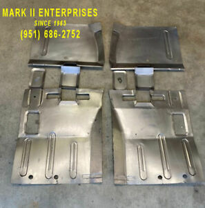 1966-1969 Lincoln Continental Left & Right Front & Rear Floor Patch Panels, New
