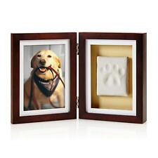 Dog Cat Paw Print Picture Desk Frame Display Pet Memory Pawprints Memorial