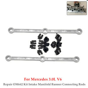 OM642 For Mercedes Intake Manifold Runner Connecting Rod Sensor Diesel 3.0L V6