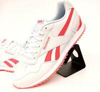 Reebok Classic Royal Glide RPLCLP Sneaker Turnschuh Damen Weiß Orange CN7401
