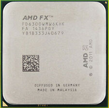 AMD FX-6300 Black Edition FD6300WMW6KHK 3.5GHz 6-Core Socket AM3+ Processor CPU