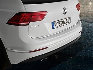 Genuine Volkswagen Tiguan + AllSpace Chrome Tailgate Protective Strip (2016-ON)
