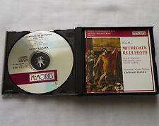 L. HAGER/MOZART Mitridate re di ponto(Live '70)ITALY 2xCD Box 1st press MEMORIES