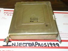 89 DODGE COLT SUMMIT ECM ECU PCM ENGINE CONTROL UNIT COMPUTER MD130245 E2T33772