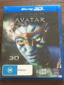 AVATAR- Blu-ray 3D & DVD. 2 Disc Set.