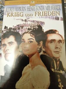 War and Peace Region 2 DVD