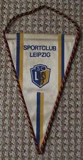1960s Sportclub Leipzig Football Club East Germany DDR GDR Soccer Pennant Flag