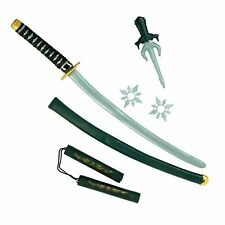 Oriental Ninja Warrior Weapon Set Adults Fancy Dress Costume Accessory