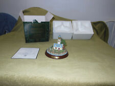 Thomas Kinkade Lighthouse Light in storm Mint in Box Certificate of Authenticity