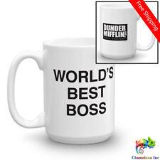 World's Best Boss The Office Coffee Mug Office Work Gift Tea Mug Ceramic cups