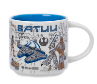 Disney Parks Batuu Star Wars Starbucks Coffee Mug Been There May 4th 2021 - NEW