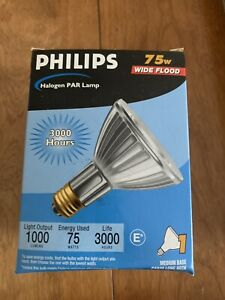 Philips 75 Watt Halogen Light Bulb 1000 Lumens #046677229443 813879