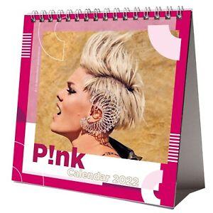 Pink 2022 Desktop Calendar NEW Desk 12 Months P!nk