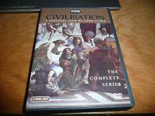 Civilisation Complete Series Lord Kenneth Clark BBC Documentary DVD Civilization