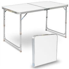 Campingtisch Gartentisch Klapptisch Flattisch höhenverstellbar MDF CPT8122sg