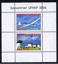 Surinam / Suriname 2006 UPAEP airplane mill Flugzeuge mühle Avion moulin S/S MNH