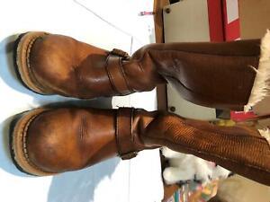 Womens Shoes- CAT Size Uk 5 Colour Brown