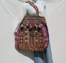 Banjara Bag Authentic Gypsy  XLarge Tote Shoulder  Boho Bohemian 60s Tassels