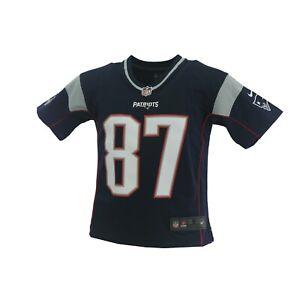 New England Patriots Rob Gronkowski NFL Nike Children's Youth Kids Size Jersey