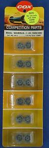 COX 1:24 SCALE COMPETITION SLOT CAR RACING CHASSIS PARTS MAGNESIUM MAG WHEELS 98