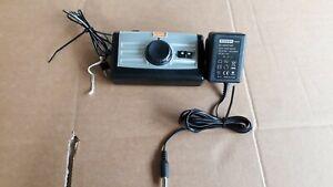 HORNBY R8250 CONTROLLER & P9000W TRANSFORMER TESTED 12.5 VDC