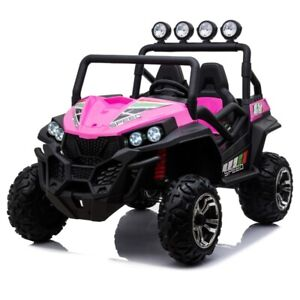Beach Buggy Speed, 24V Electric Ride On Toy for Kids - Pink- Pre Order ETA 3rd N