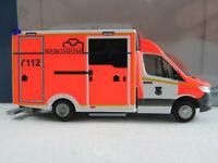 "Rietze 76201 WAS Design-RTW MB Sprinter (2018) ""FW Bergheim"" 1:87/H0 NEU/OVP"