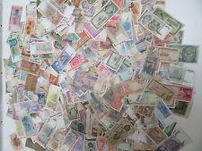 Lot de + de 700 Billets du Monde Usagés divers