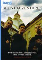 Ghost Adventures Season 3 TV Series Region 1 New 3xDVD
