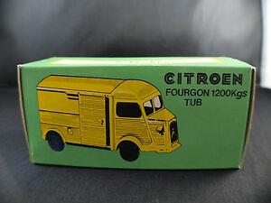 JRD ◊ Citroën Fourgon 1200 Kgs Tub ◊ boite seule